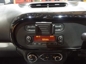 室内センターコンソールラジオ