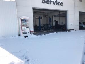サービス雪